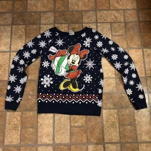Minnie Mouse Christmas sweater